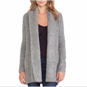 Joie Cardigan Solome Heather Gray Sweater